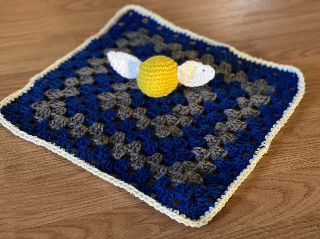 Crochet harry potter ravenclaw lovey
