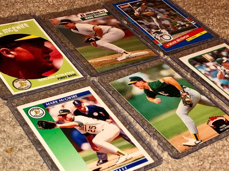 Mark McGwire Sports Cards (90's)