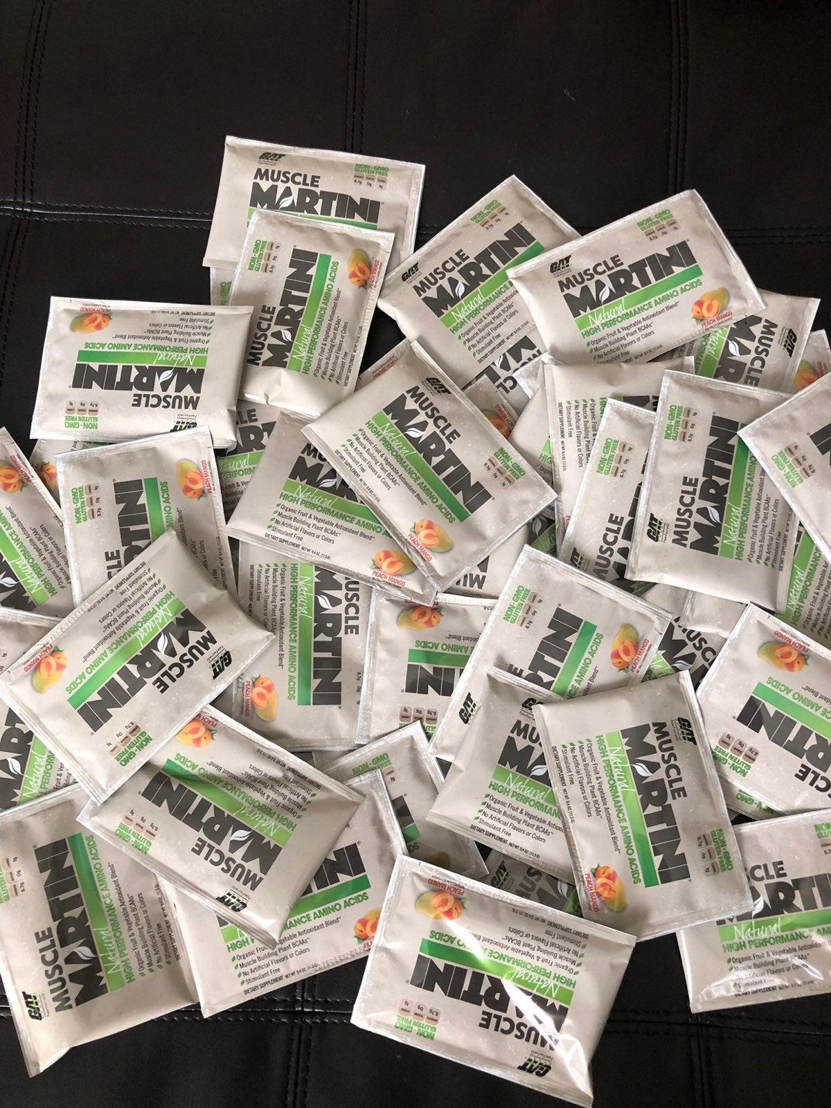 100 Single Muscle Martini Peach Mango