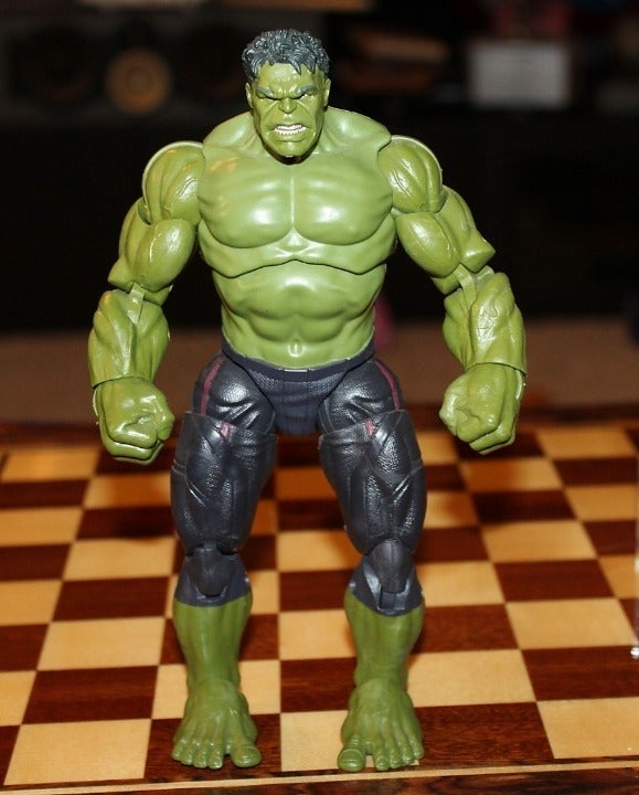 Marvel legends Hulk Thanos baf AOU