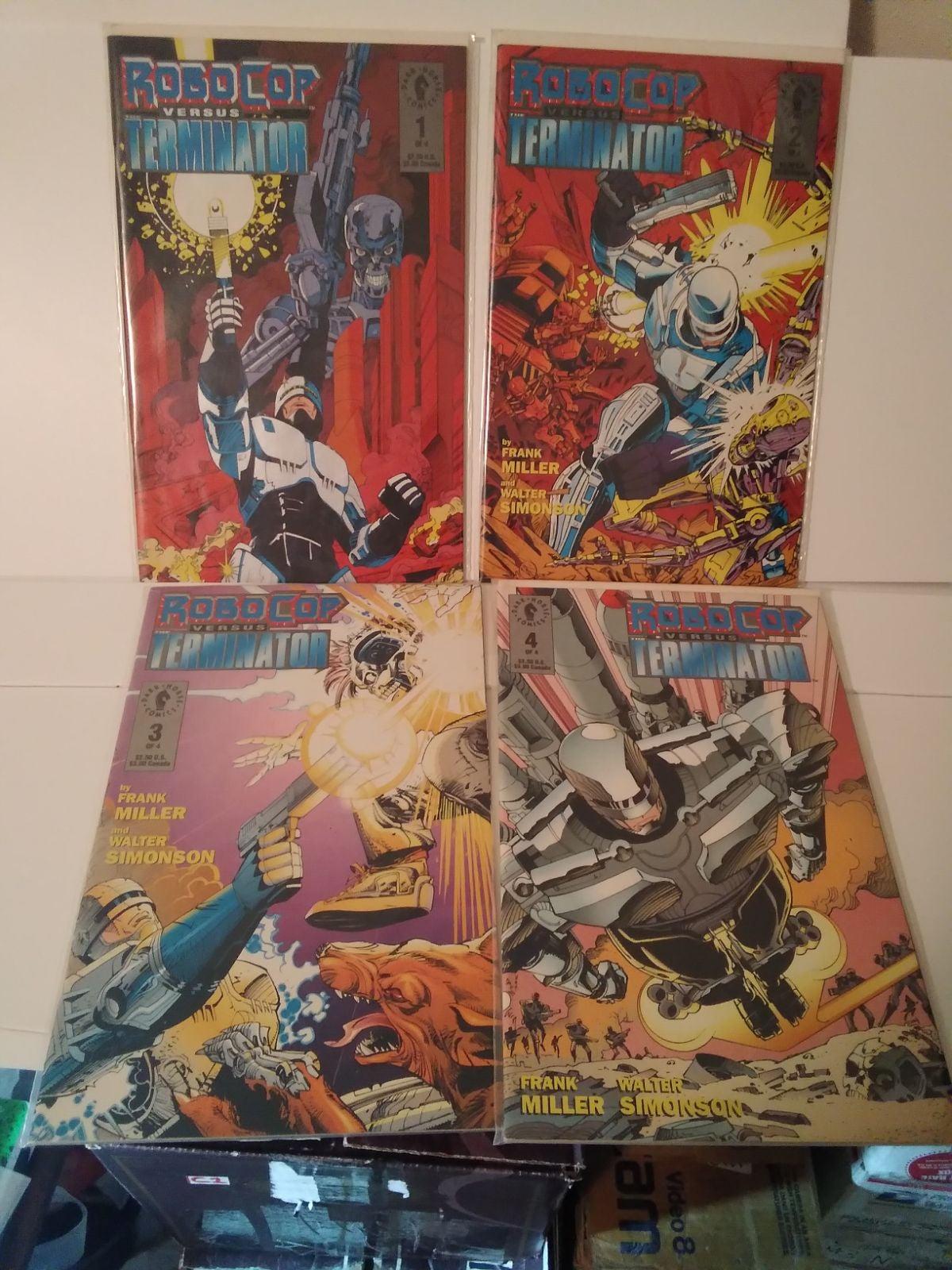 RoboCop vs Terminator Dark Horse comics