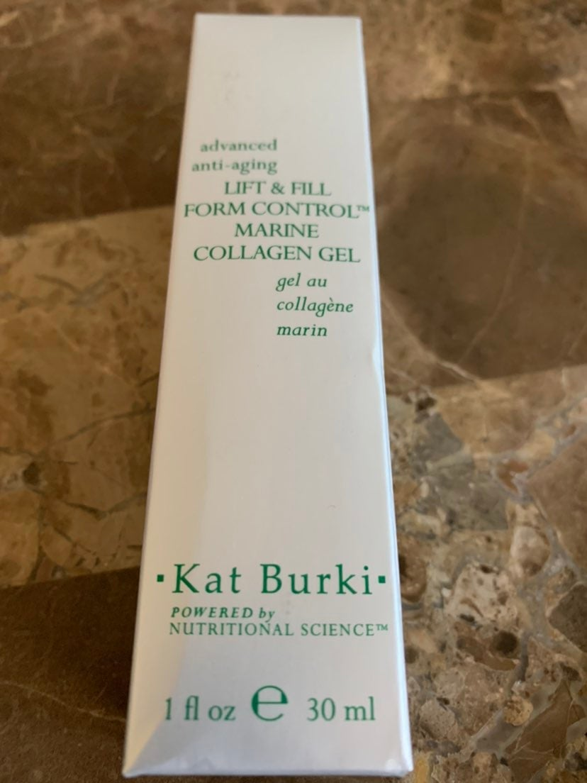 Kat Burki marine collagen gel