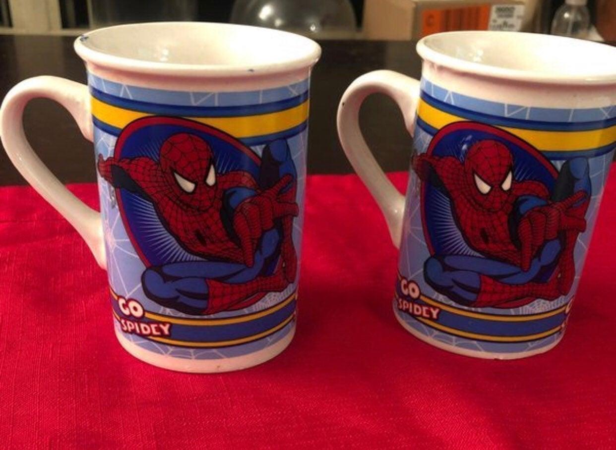 Children's Spider-Man Mug Set