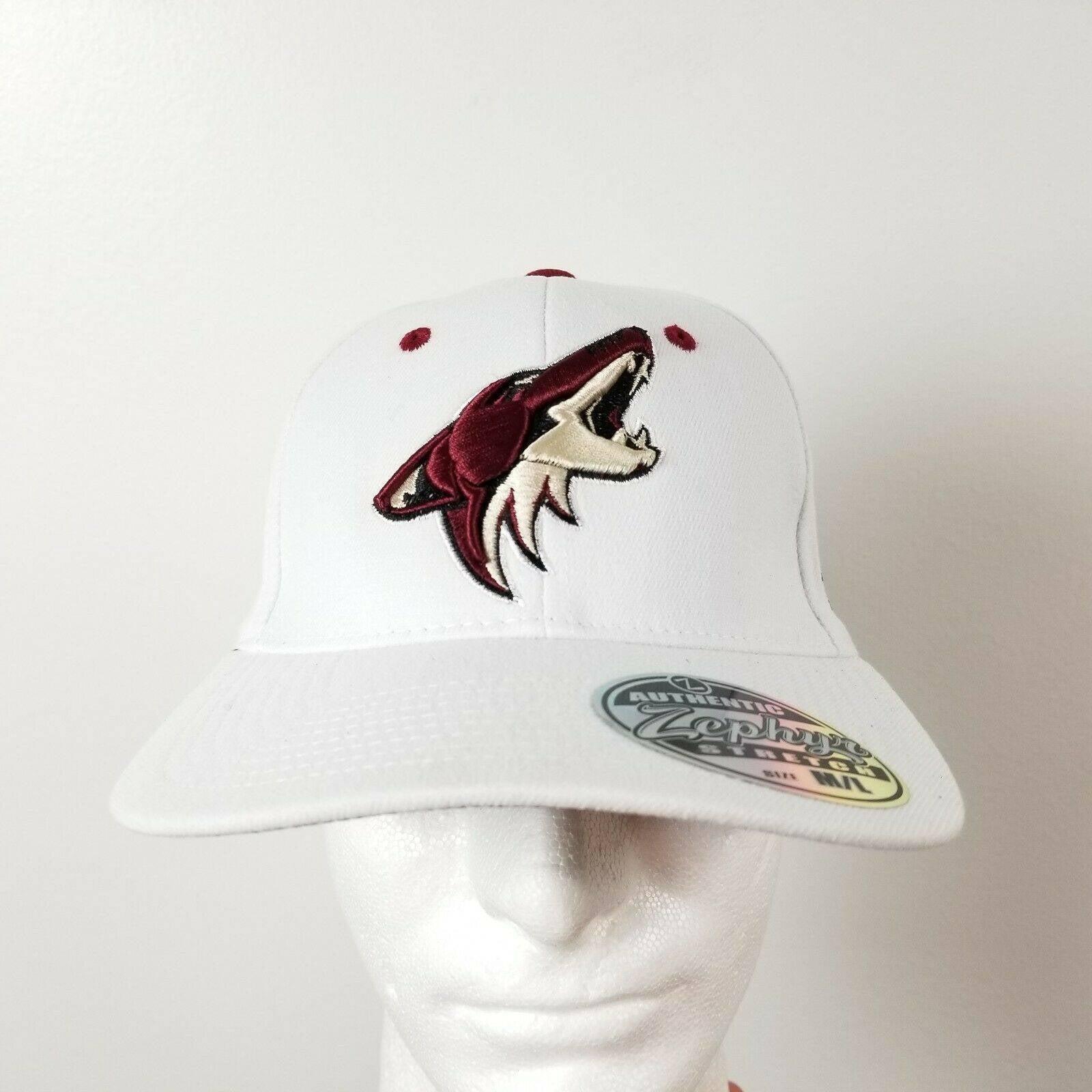 Zephyr Arizona Coyotes Hat M/L Stretch