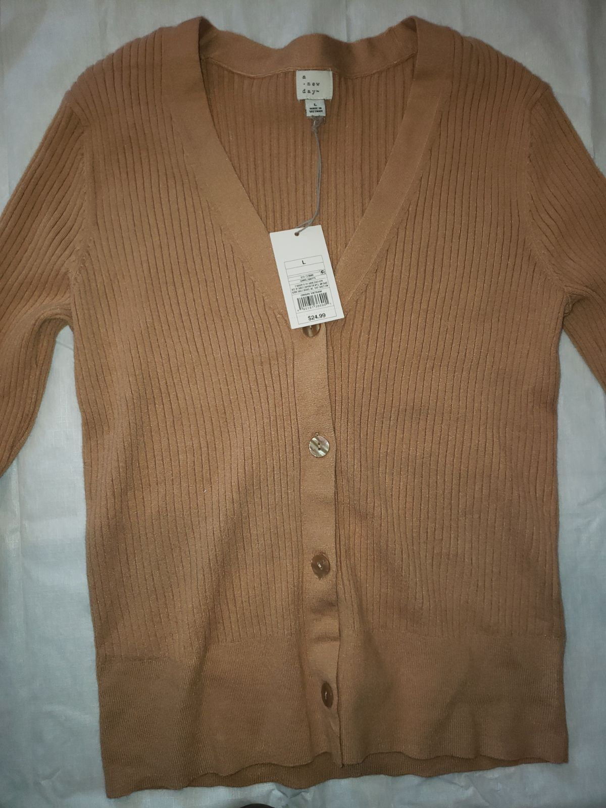 A new day bottoms sweater beige size lar