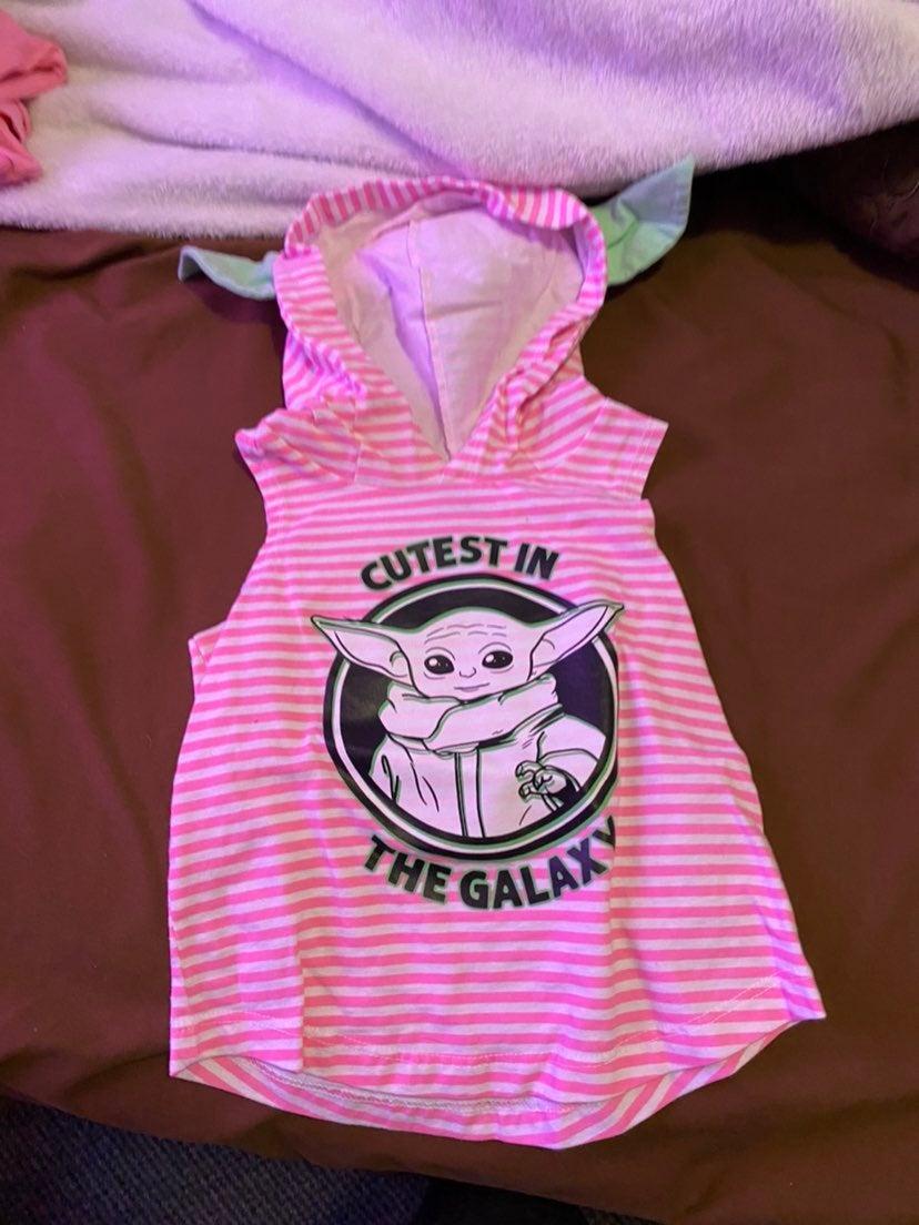 Baby yoda toddler shirt