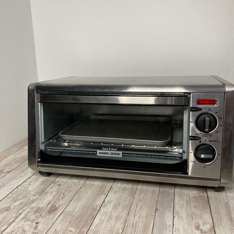 Black decker stainless toaster oven