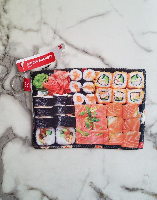 DCI Sushi Fabric Till Case Yummy Pockets