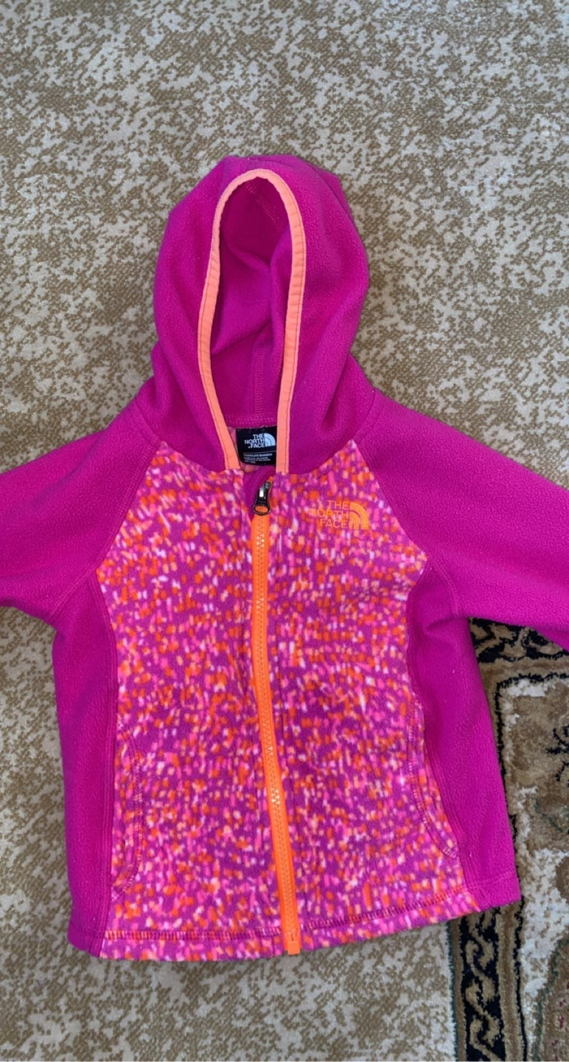 Kids north face sweater