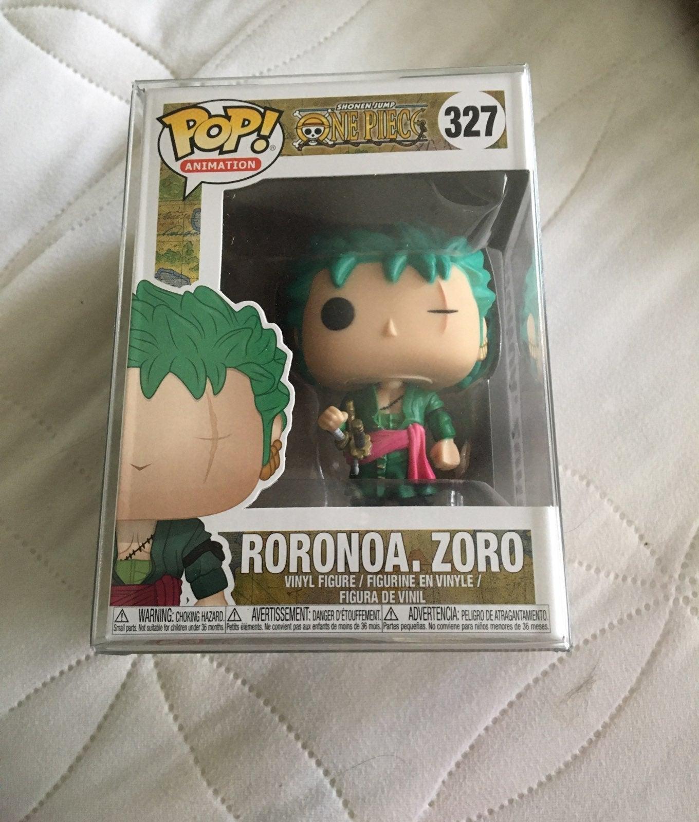 Mint Roronoa Zoro Funko Pop w/ Protector