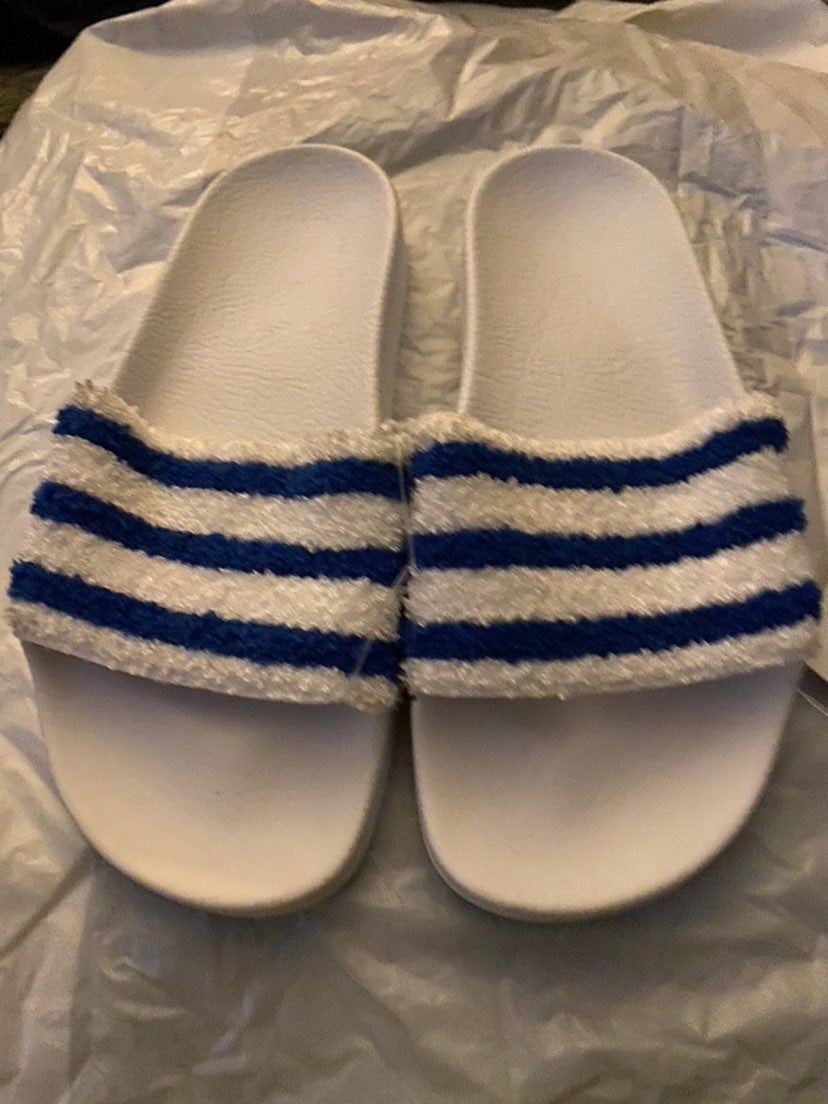 Sandal adidas US 5 Adilette Terry cloth