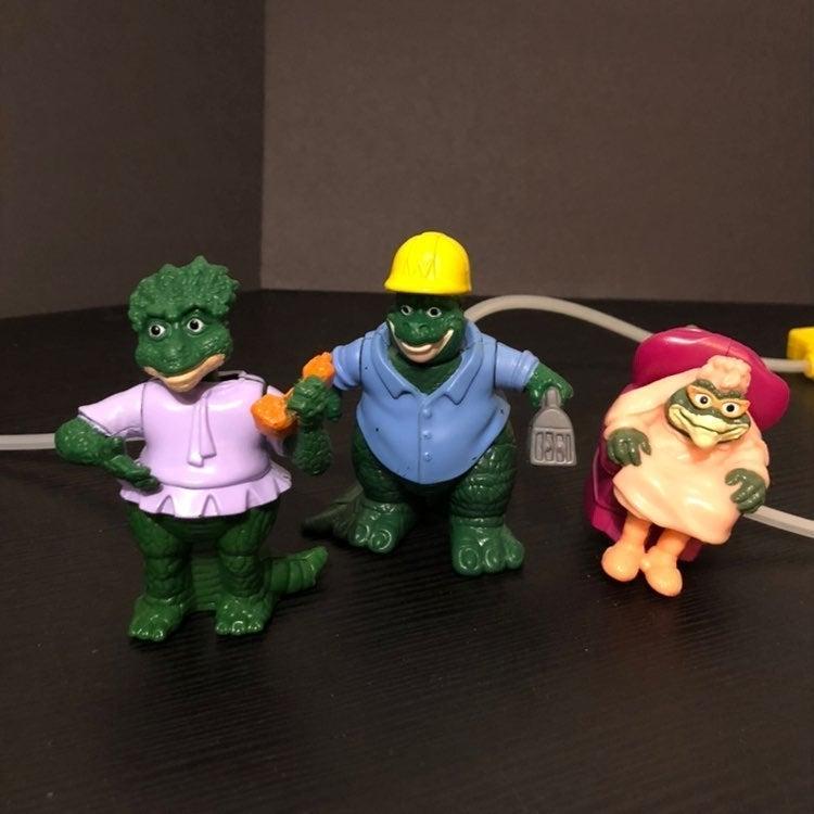Vintage mcdonalds dinosaur tv show toys