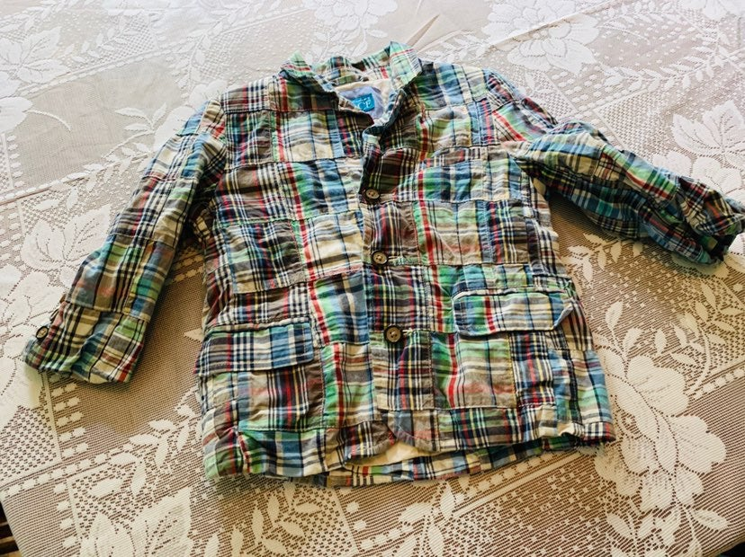 The childrens place 3T patchwork jacket