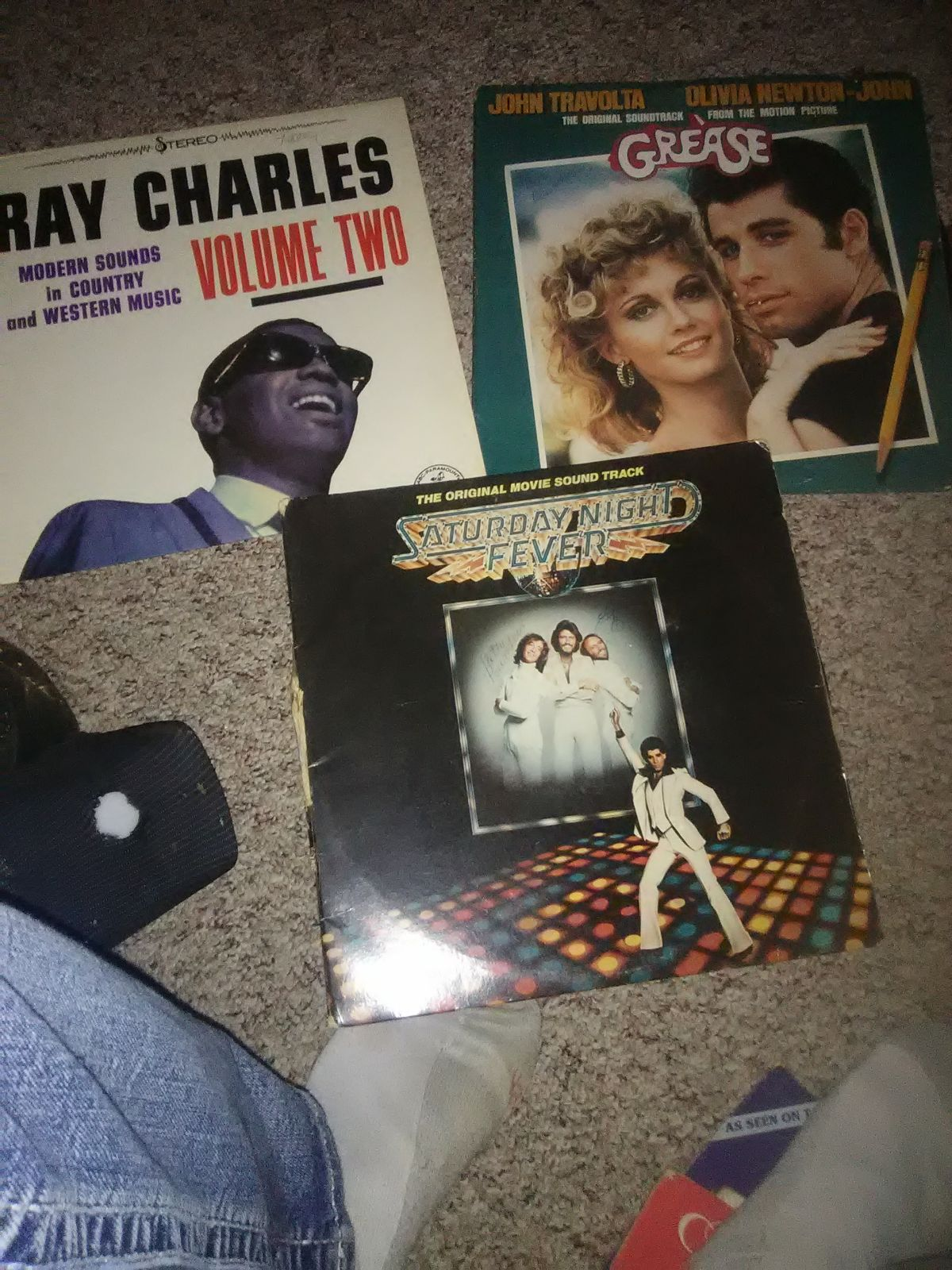 All 3 in pic for 25. Vinyl orginal recor