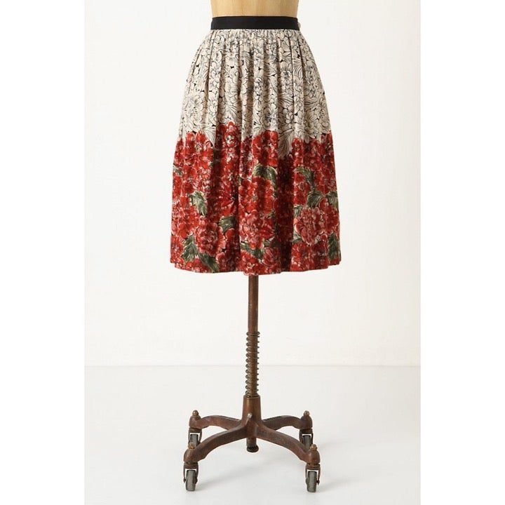 EDME & ESYLLTE Mid Creation Floral Skirt