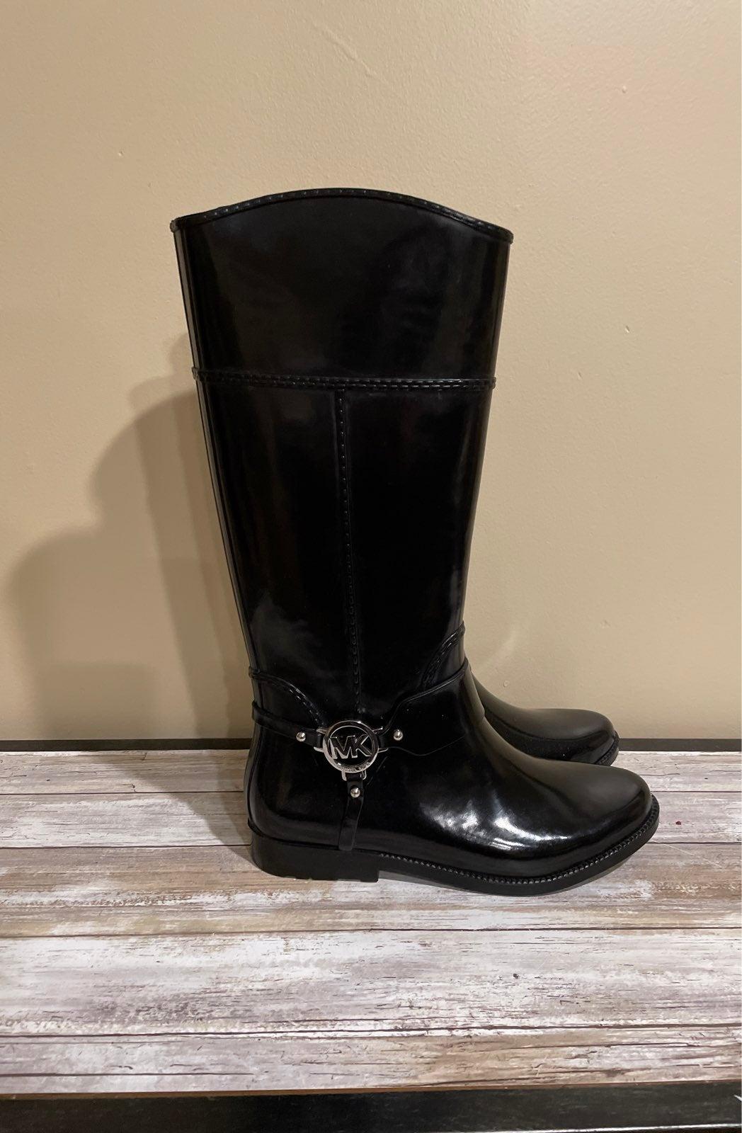 Michael Kors Rain Boots Size 10