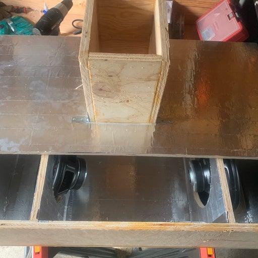 Custom Sub Box 2 10's (Mtx 4000) in 4th