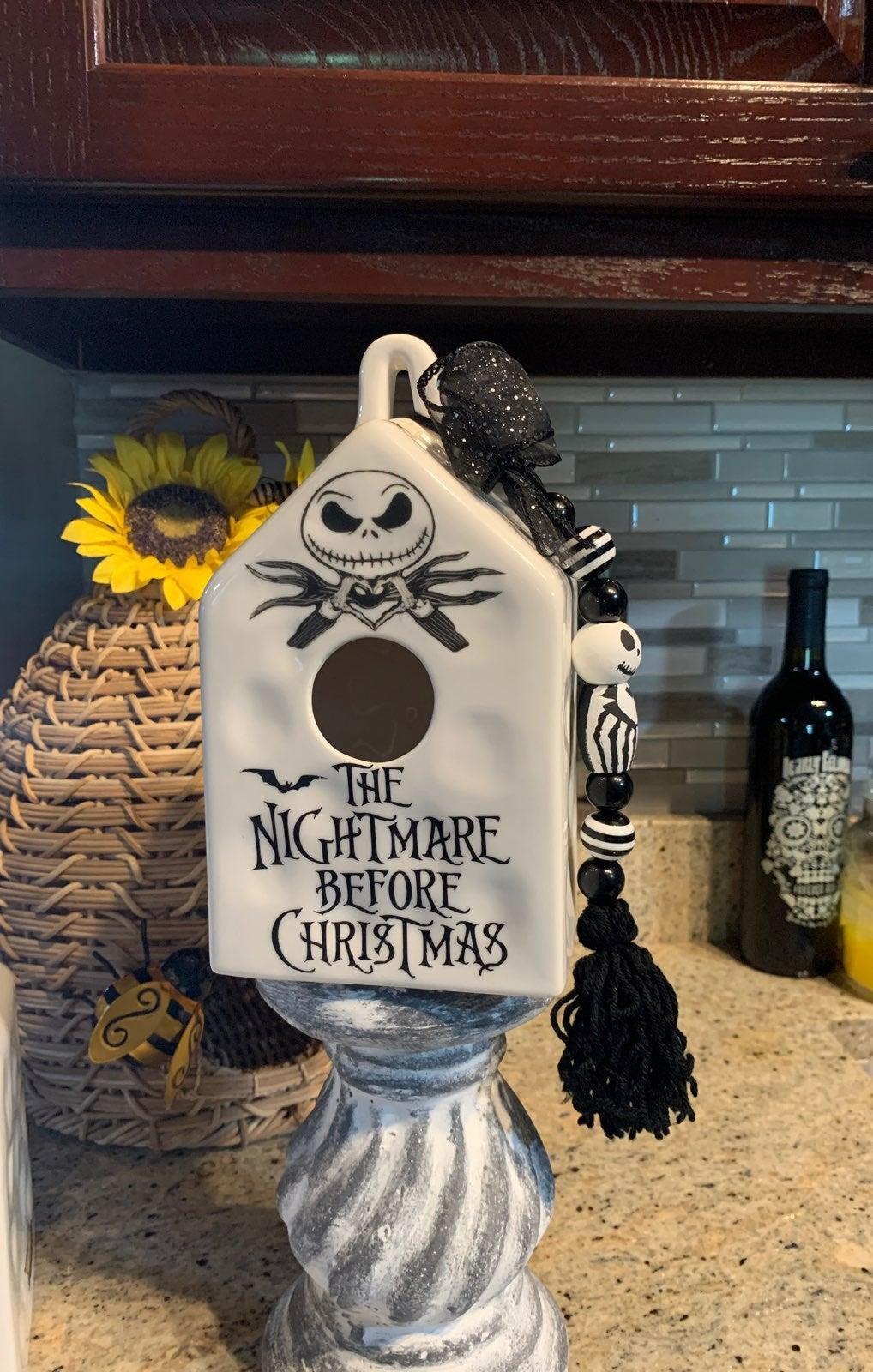 The Nightmare Before Christmas birdhouse
