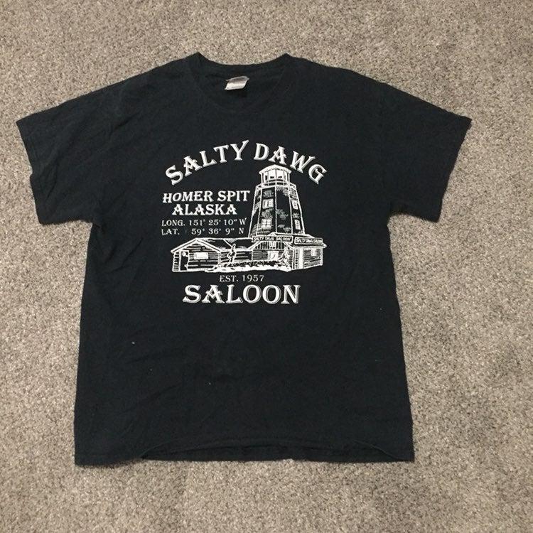 Salty Dog Saloon Tshirt