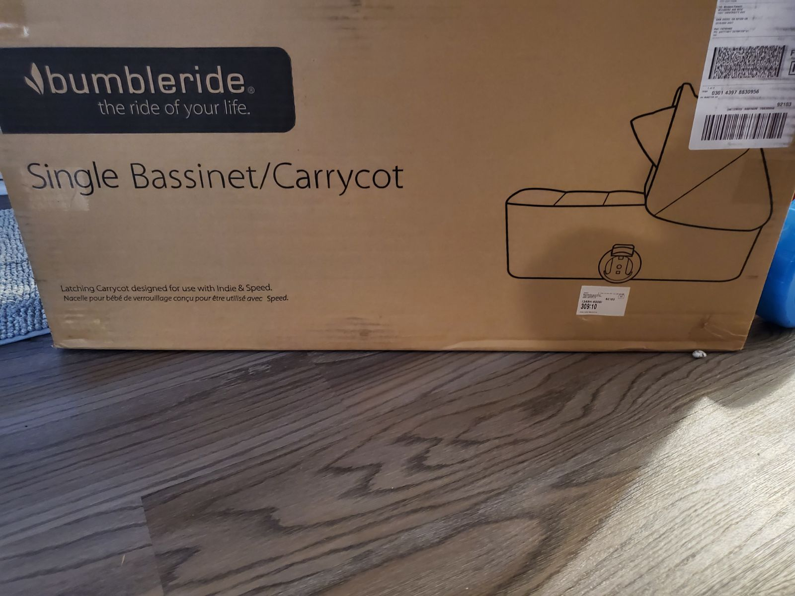 Bumbleride bassinet