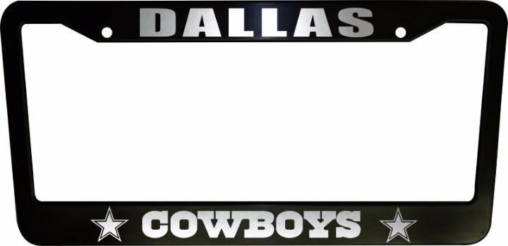 2 Dallas Cowboys License Plate Frame