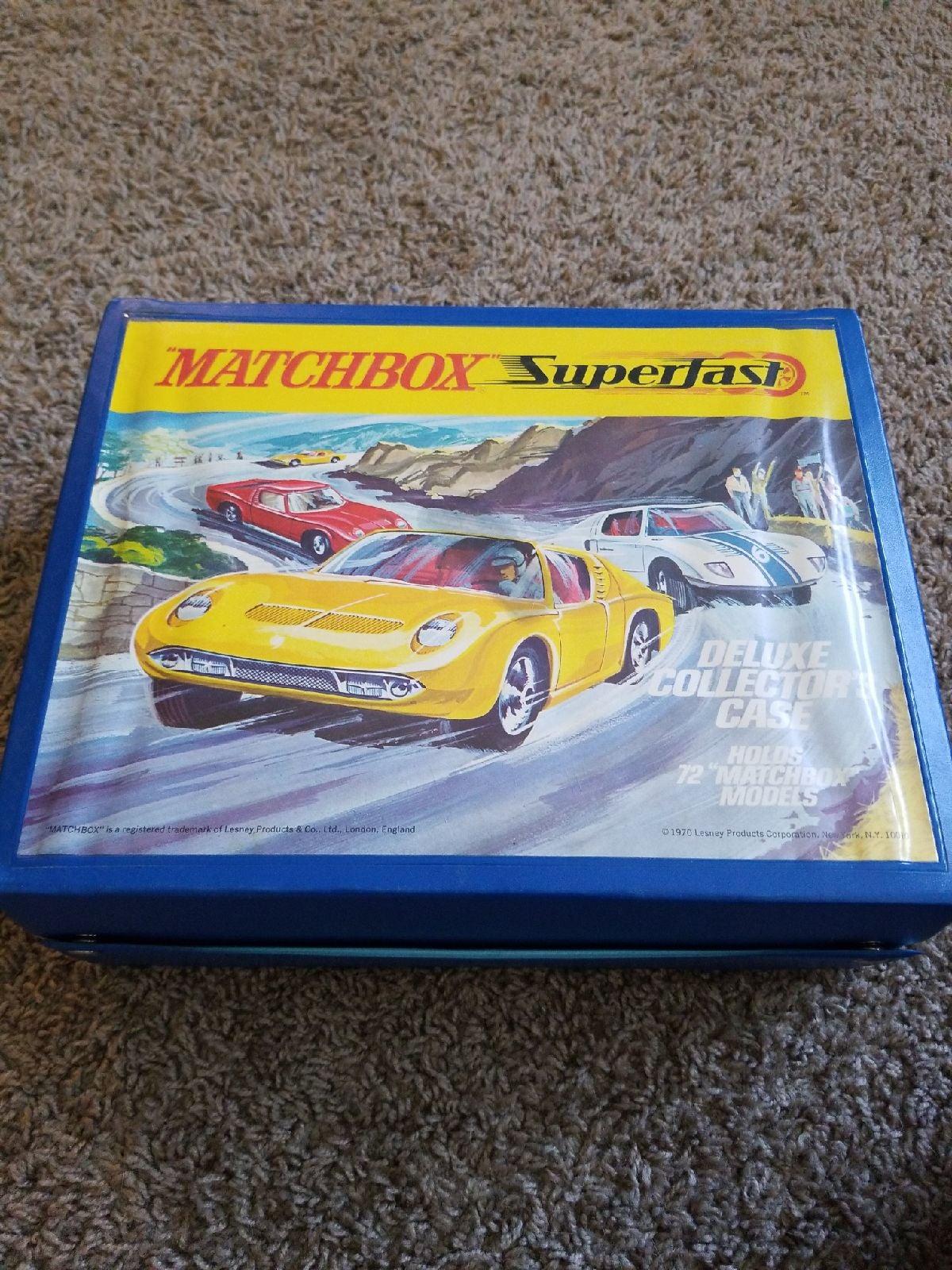 Matchbox Superfast 1970 Carring Case