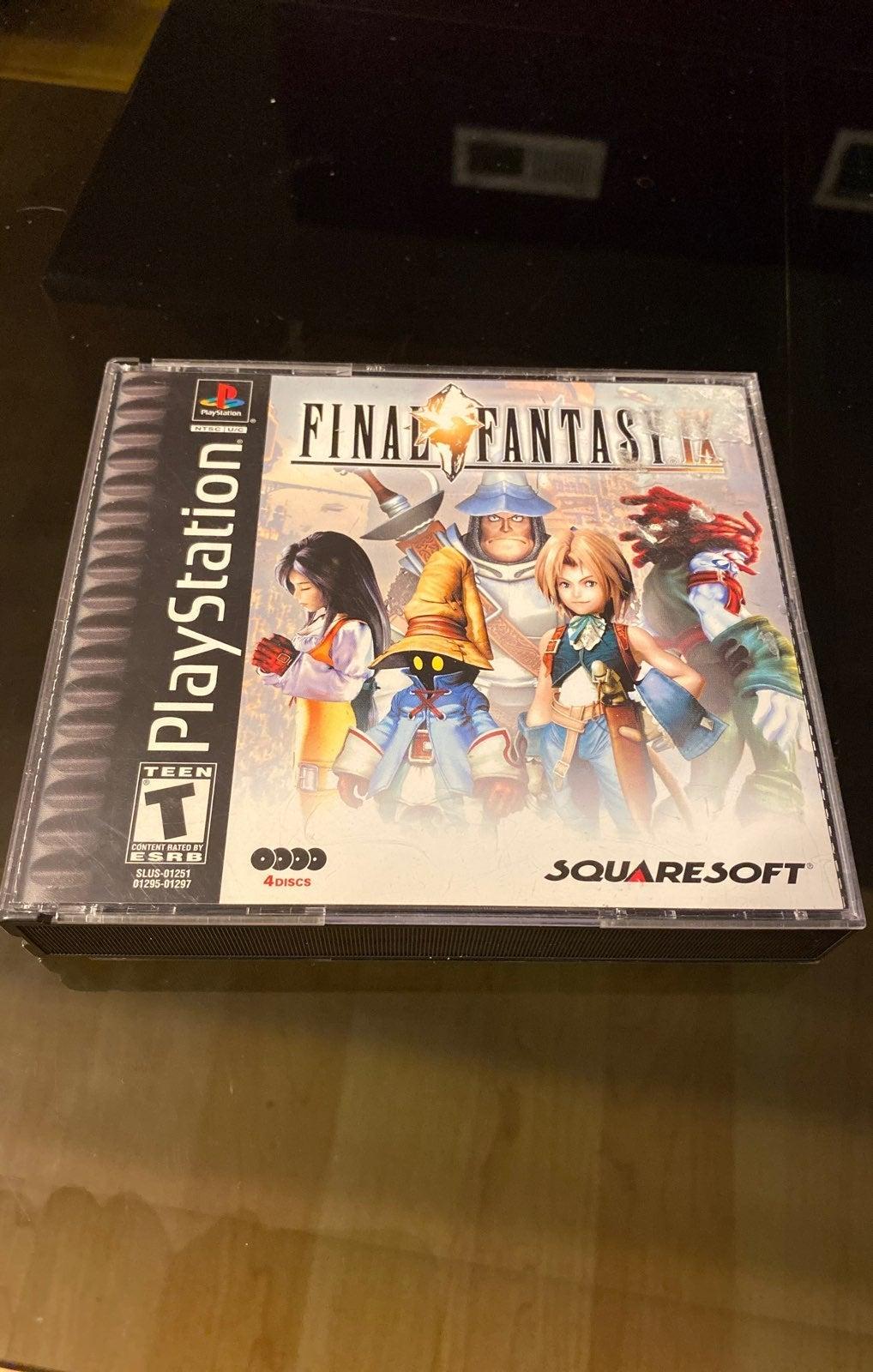 Final Fantasy IX PS1 Black Label