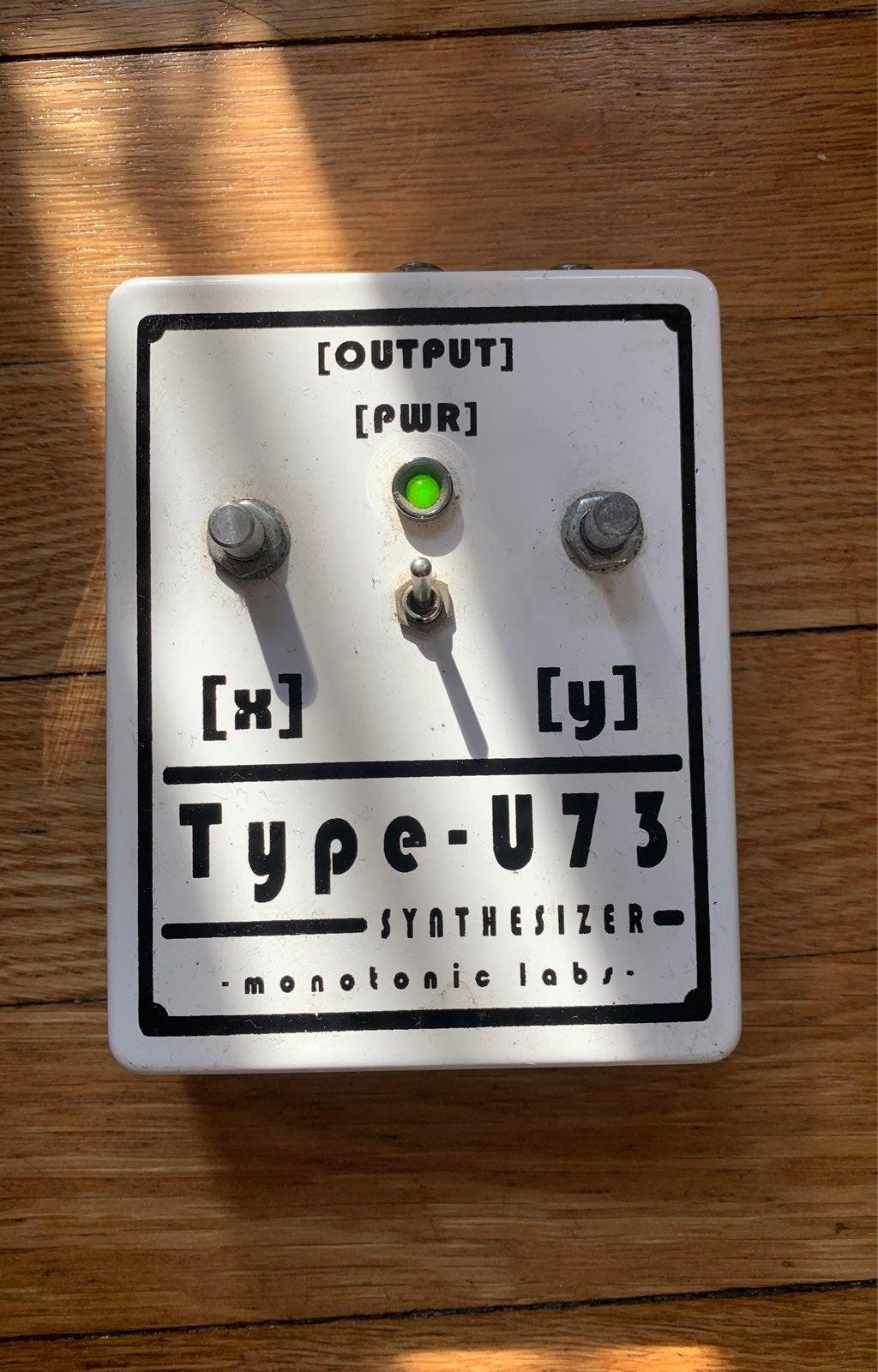 Montonic Labs Type - U73 Synthesizer