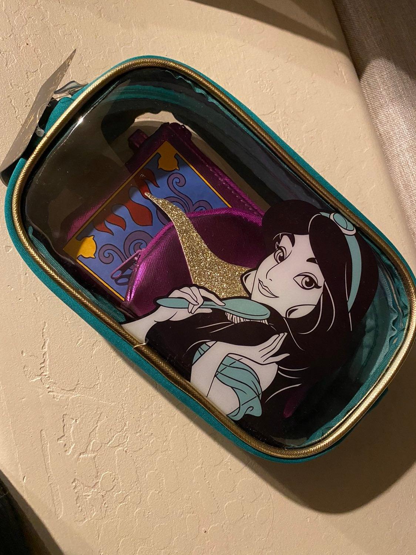 Princess jasmine makeup bags