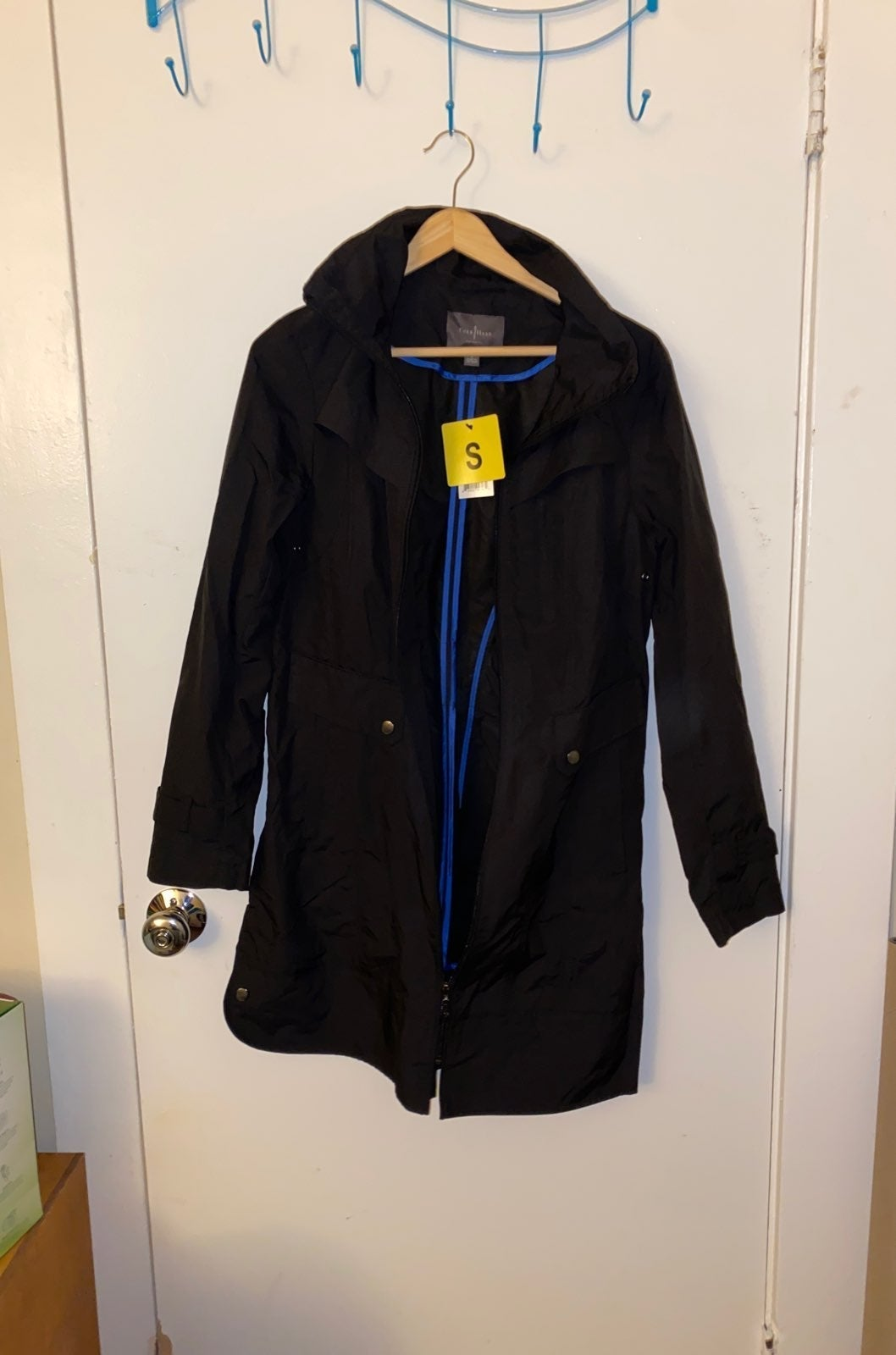 Nwt Cole haan womens hooded trench coat