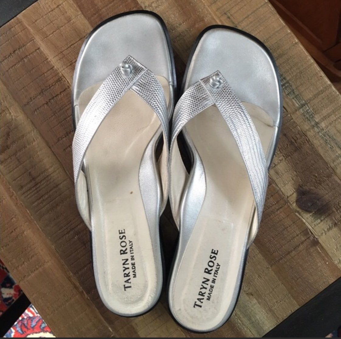 Taryn Rose Thong Sandals