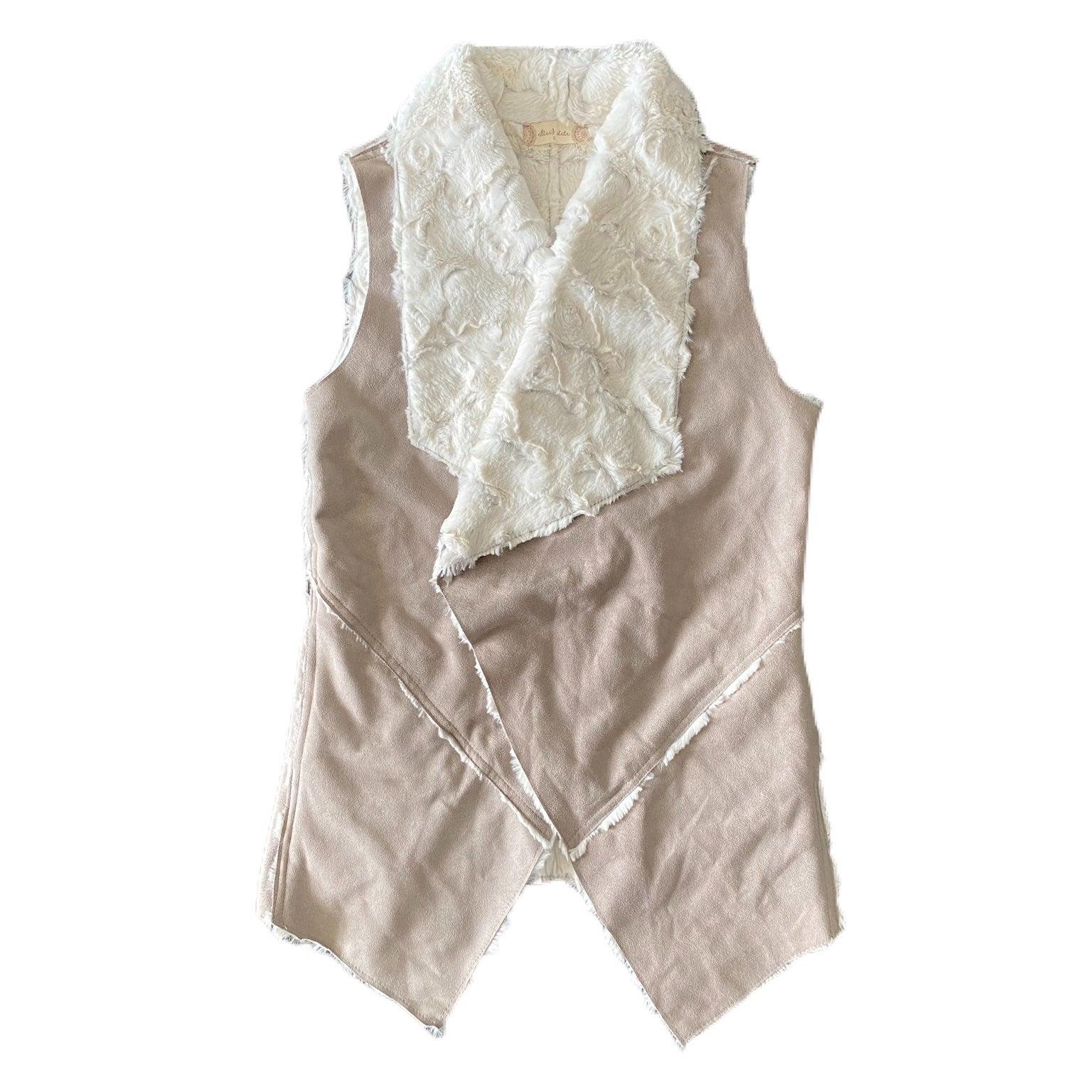 Altar'd State Faux Fur Outerwear Vest