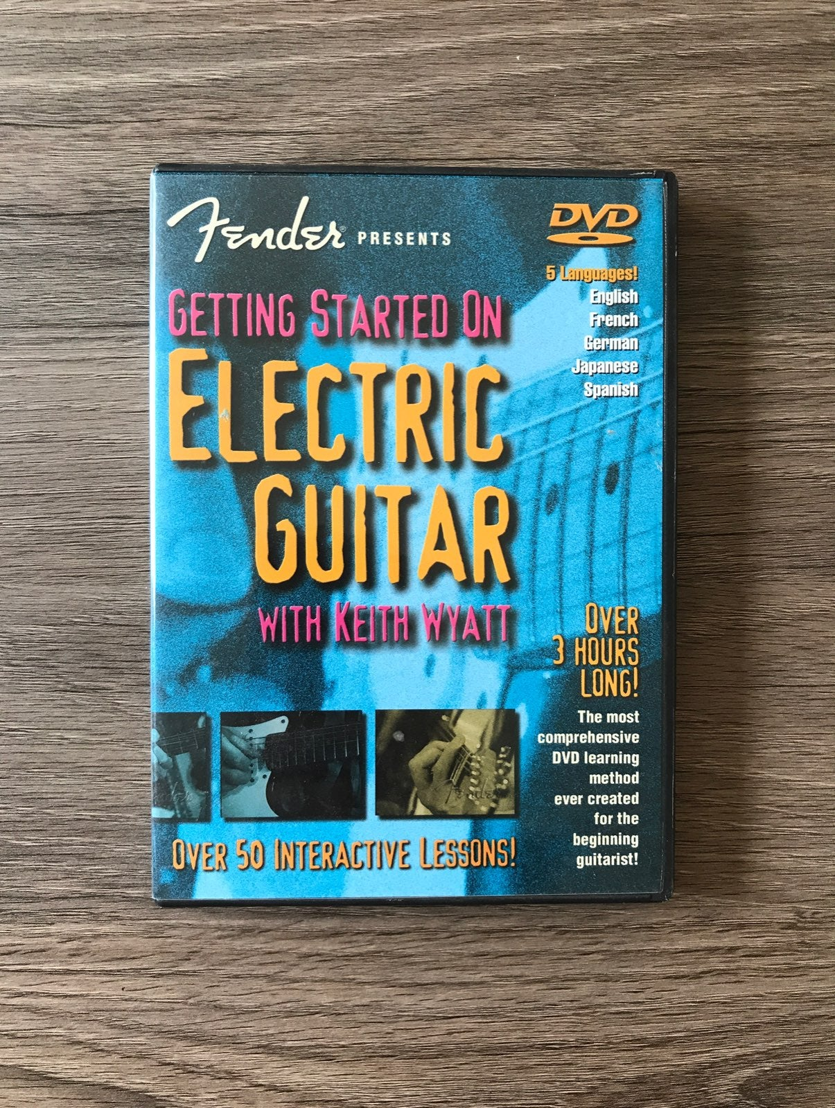 Fender Electric Guitar Lessons