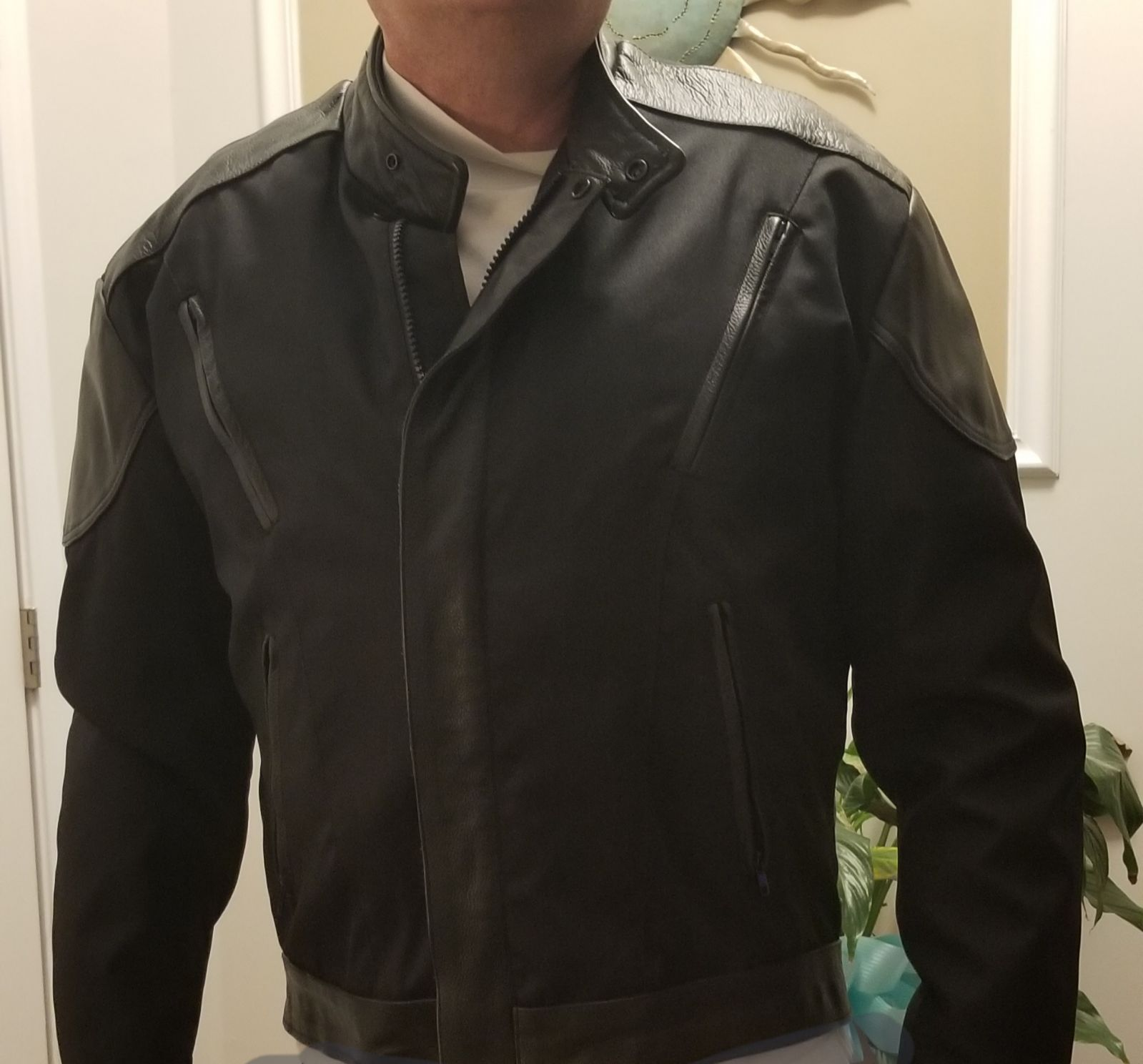 Very Nice, Partial Leather Riding Jacket