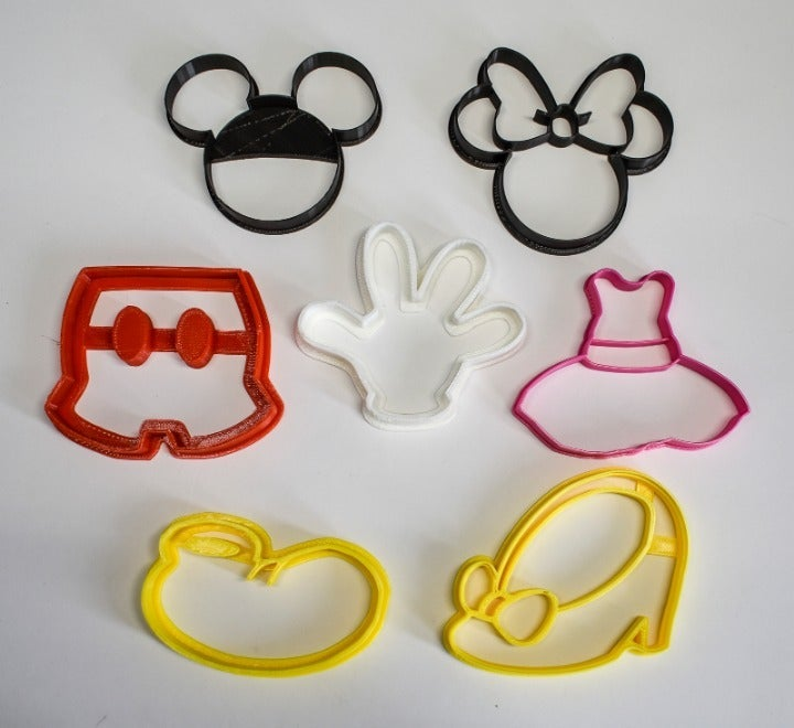 MICKEY MOUSE MINNIE COOKIE CUTTER PR577