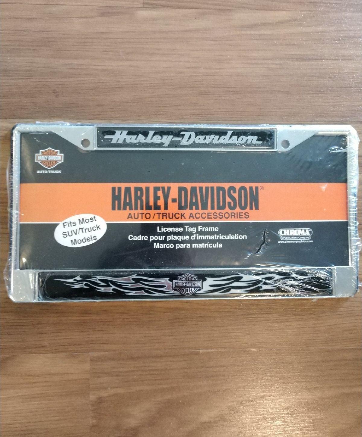 Harley Davidson Truck License Plate New