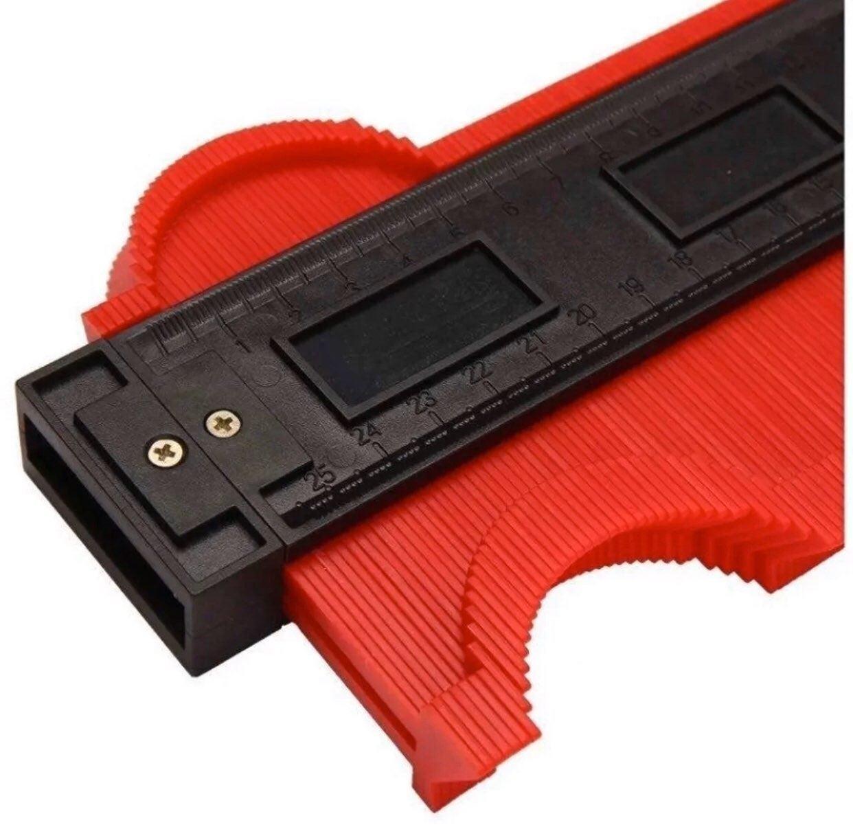 Profile gauge contour duplicator ruler t