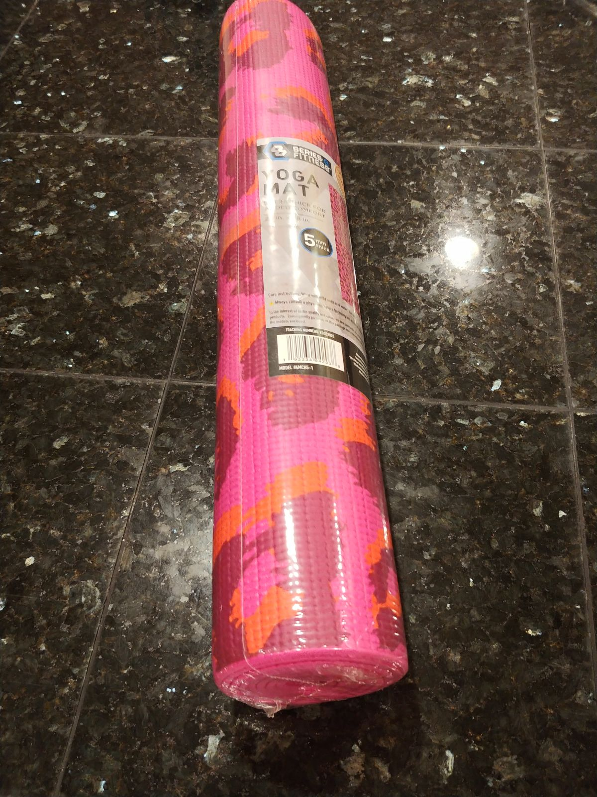 Yoga Mat 5mm thick yoga mat 24in x 68in
