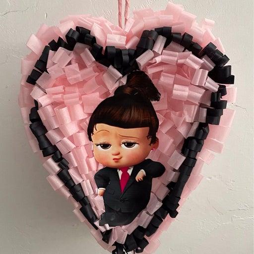 Boss Baby One Heart Pinata 15x12x6 (W)