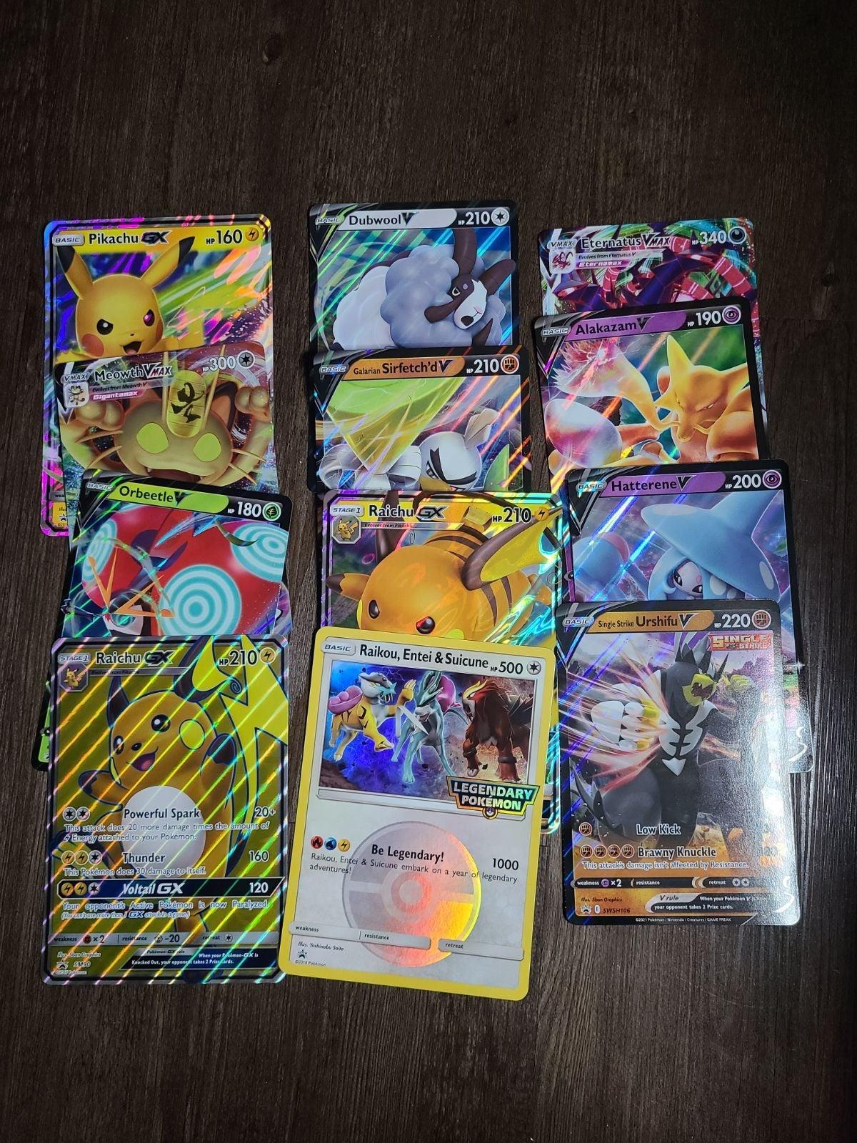 Pokemon Jumbo GX V Vmax Card