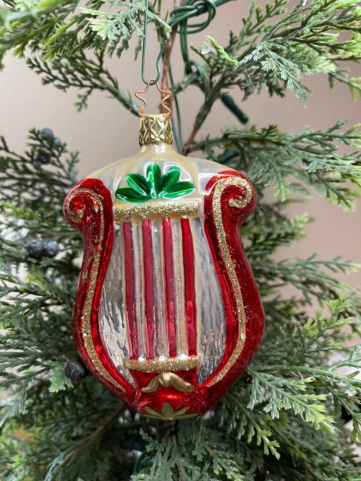 Inge-Glas Vintage • Christmas Lyre Ornam