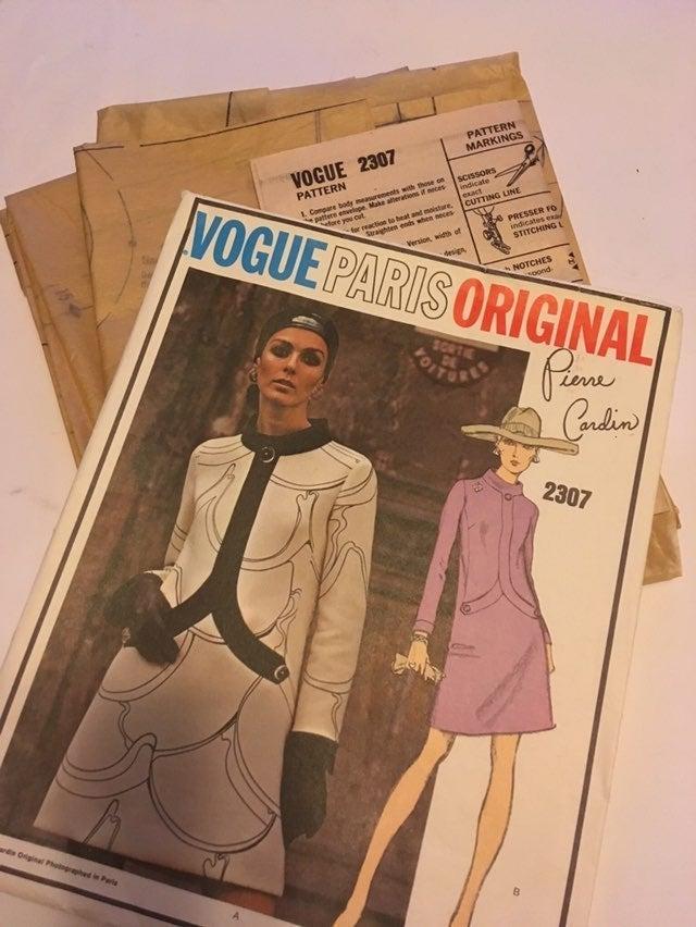 Vintage Uncut Vogue Pattern