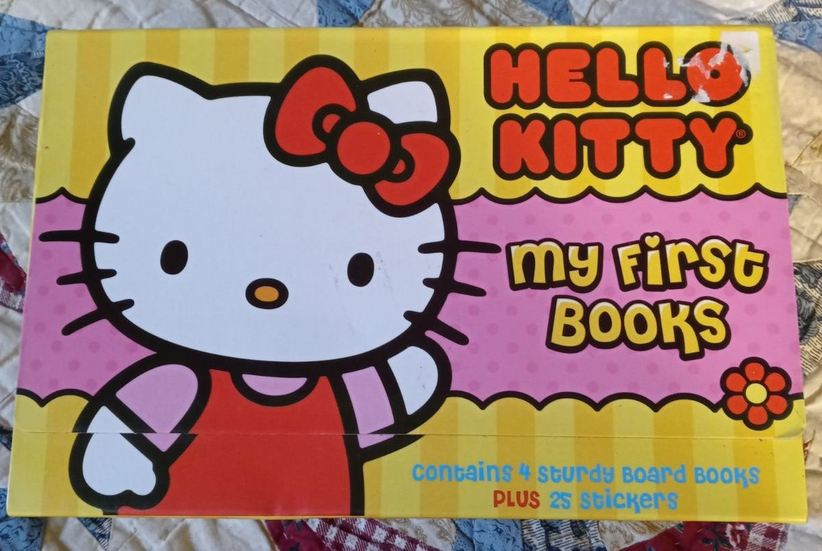 Hello Kitty My First Books with Stickers