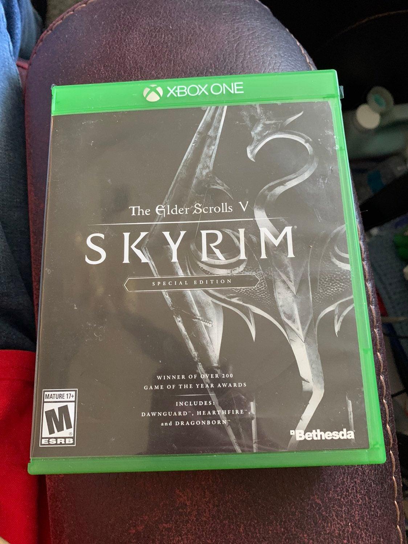 Xbox One Skyrim