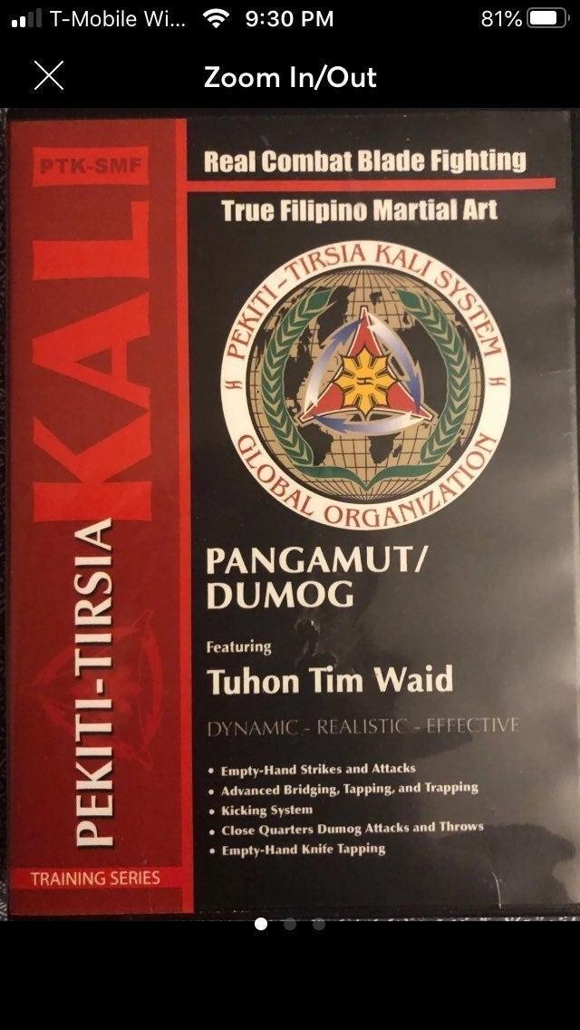 Pekiti Tirsia Kali Pangamut/Dumog