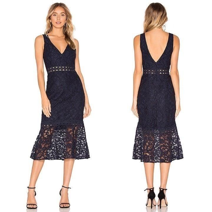 New BARDOT Fiona Trumpet Dress Sz 6