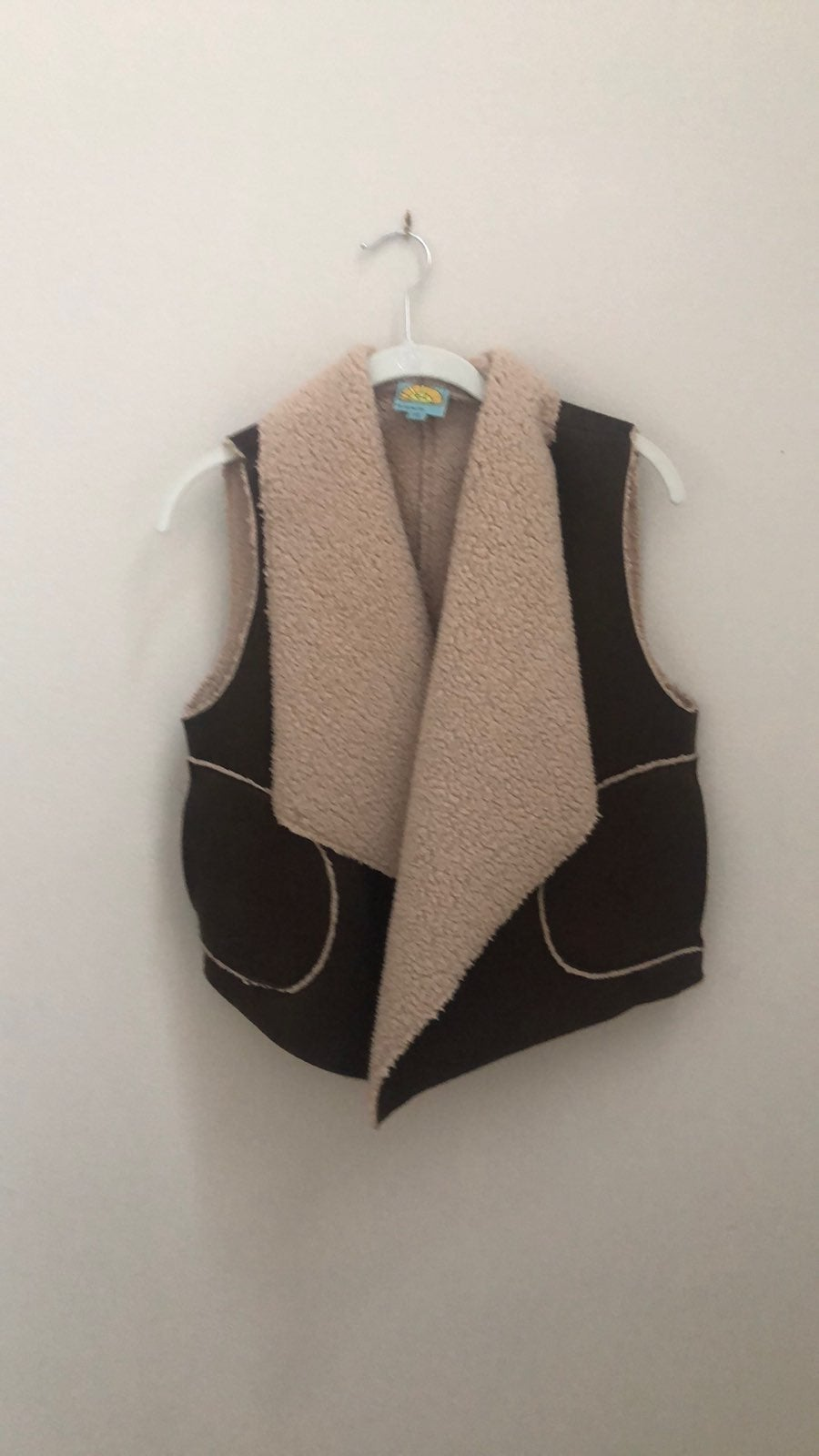 C&C California sherpa lined vest