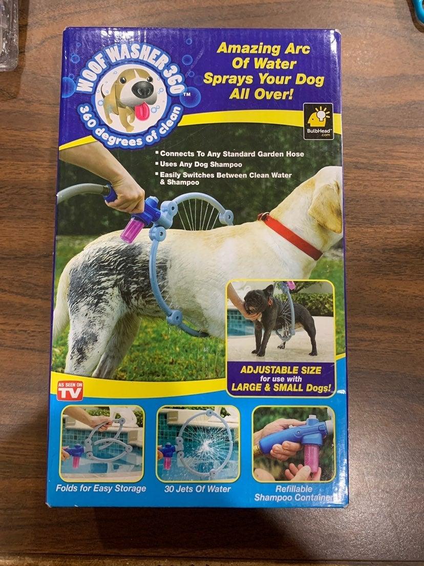 New Woof Washer -Pet bath aid- NEW