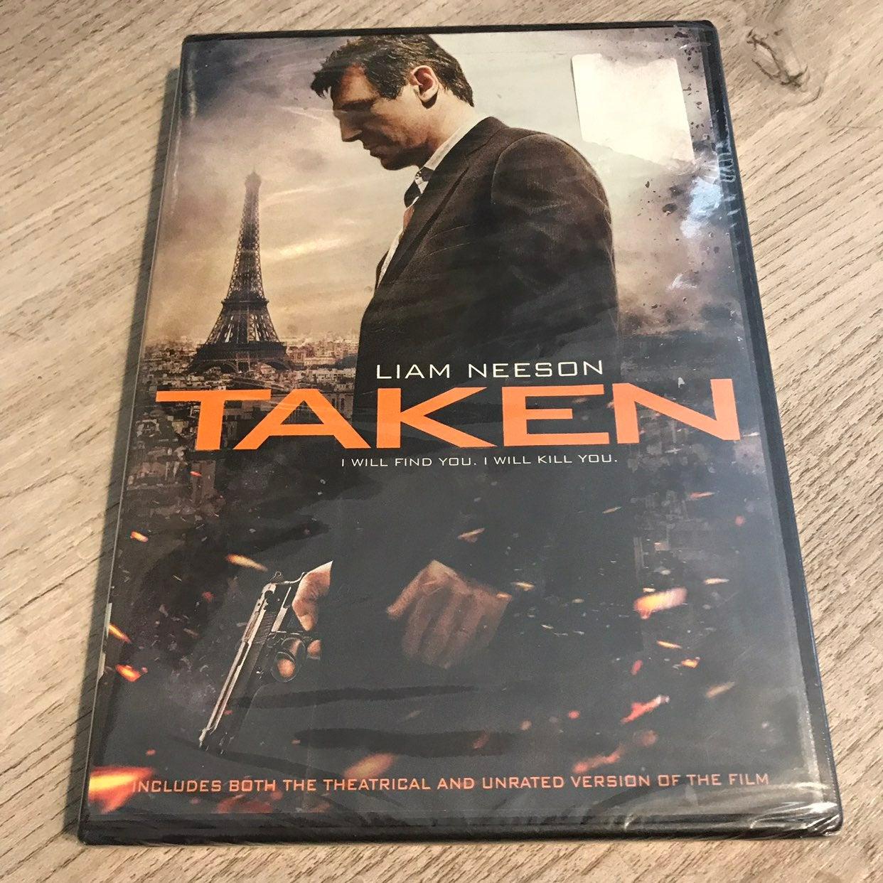 Taken DVD (NEW)