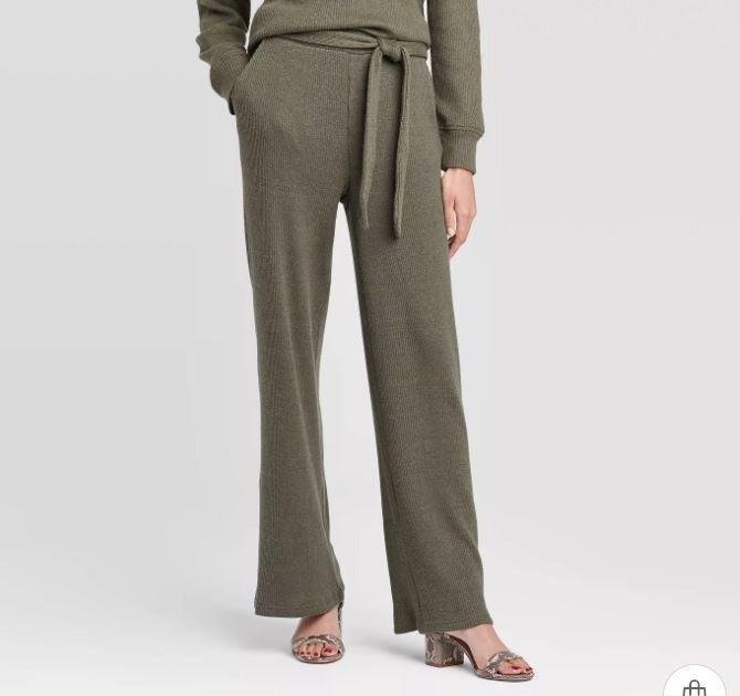 Who What Wear Medium Rib Lounge Pants